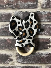 Bijtring Leopard - Black