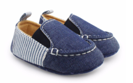 JEANS STRIPED COTTON Moccasin (3-18 mnd)