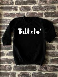 Sweater Dress Tuthola | BLACK