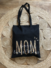 Shopper MOM | Leopard- White