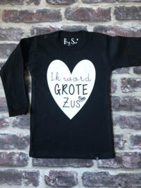 Shirt Ik word GROTE Zus!