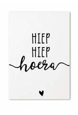 Minikaartje Hiep Hiep Hoera  | Zoedt