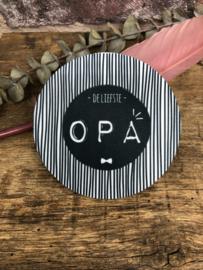 Onderzetter | de liefste OPA | STREEP
