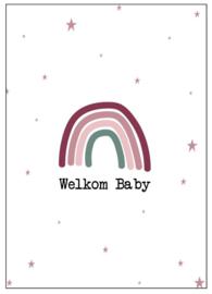 Kaart Welkom Baby
