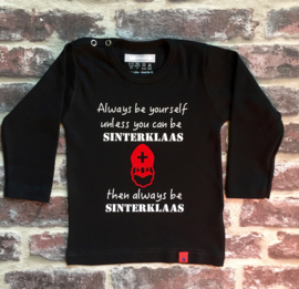 Shirt Always be Sinterklaas  74-80