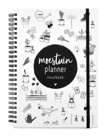 Moestuinplanner - Invulboek