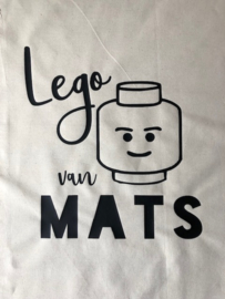Lego-Opbergzak met naam