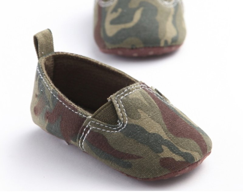 CAMOUFLAGE COTTON Moccasin (3-18 mnd)