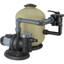 Zandfilterset Sidemounted Deluxe Premium Shott 10 m³/uur, badinhoud<70m3