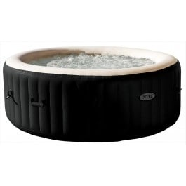Jacuzzi met Bubbels & Jets, zoutwatersysteem, rond model