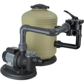 Zandfilterset Sidemounted Deluxe Premium Shott 6 m³/uur, badinhoud<55m3