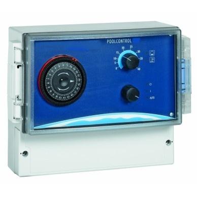 Poolcontrol met verwarmingsregeling versie 230 volt