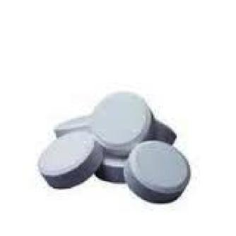Chloortabletten 90/200, 1kg. Tablet 200gr. Langzaamoplossend chloor