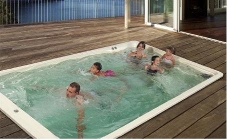 Pretty Pool Acryl zwemspa versie 1 (basic) afmeting 5 x 2,60 x 1,30