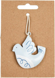 (Kerst)hanger duifje - Rex London