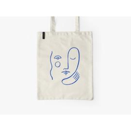Katoenen tas - gezicht