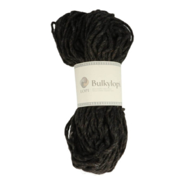 Bulky lopi 0005 Black heather