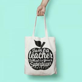 Tas - I Am A Teacher - Wit