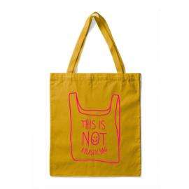 Tas - This Is Not A Plastic Bag - Geel