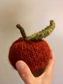 Gebreide appel - rood