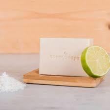 Happy Soaps- Body Bar - Kokosnoot & Limoen
