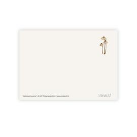 Postkaart - Mycena