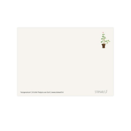 Postkaart - Huisgeranium