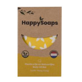 Happy Soaps - Body Oil Bar - Exotic Ylang Ylang