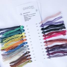 Stalenkaart Onion Nettle Sock Yarn