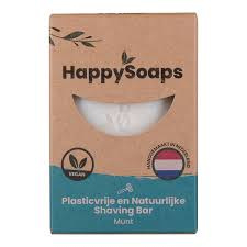 Happy Soaps - Shaving Bar - Munt