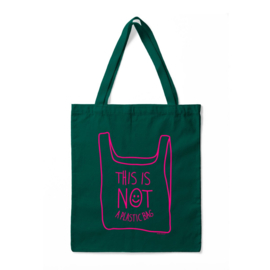 Tas - This Is Not A Plastic Bag - Groen