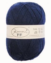 Kauni 8/2 uni FF Donkerblauw (150 g)