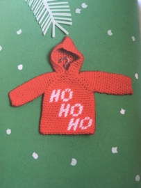 Kleine Kerst truien haken