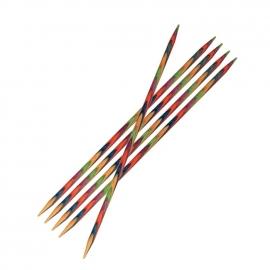 Knitpro Symfonie wood sokkennaalden 15 cm