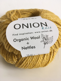 Onion  Wool + Nettles no. 6 - 628 Mosterd