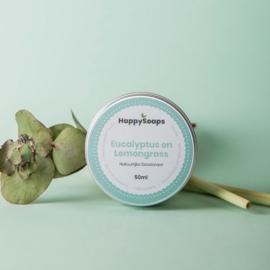 Happy Soaps - Deodorant - Eucalyptus & Lemongrass