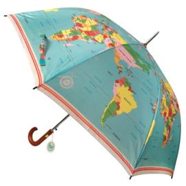 Paraplu Wereldkaart - Rex London