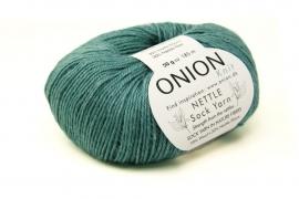 Onion Nettle Sock Yarn - 1025 Petrol