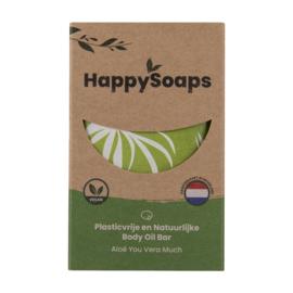 Happy Soaps - Body Oil Bar - Aloë Vera Much