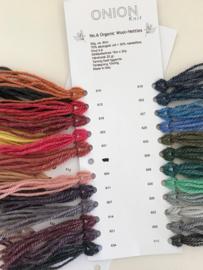 Stalenkaart Onion Wool + Nettles no.6