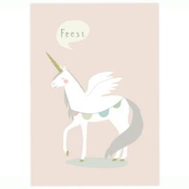 Postkaart - Unicorn