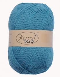 Kauni 8/2 uni SS3 Lake blue (150 g)