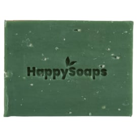 Happy Soaps- Body Bar - Citroen & Basilicum