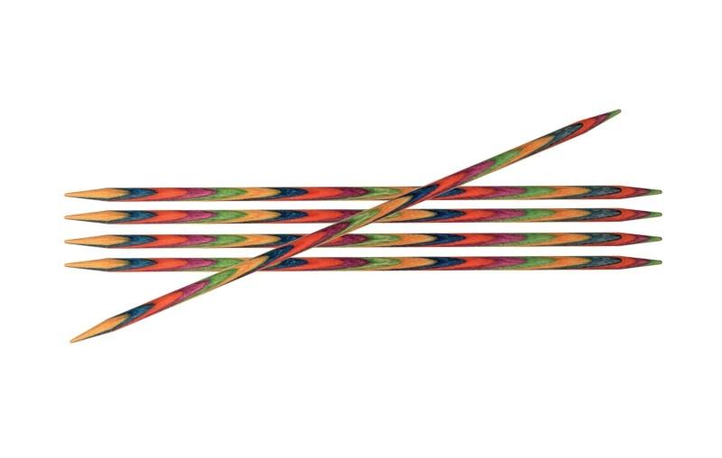 Knitpro Symfonie wood sokkennaalden 20 cm