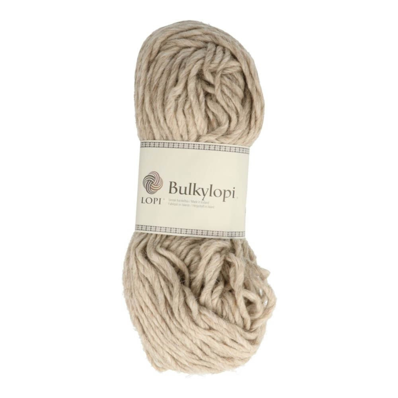 Bulky lopi 0086 Light beige heather