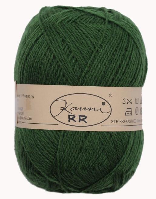 Kauni 8/2 uni RR Groen (150 g)
