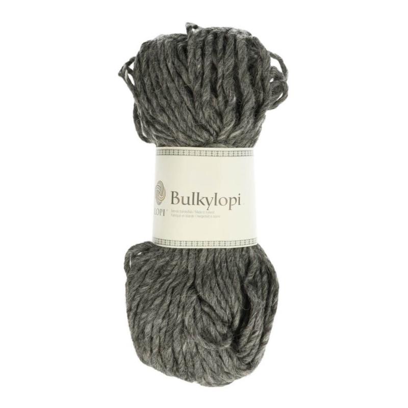 Bulky lopi 0058 Dark grey heather