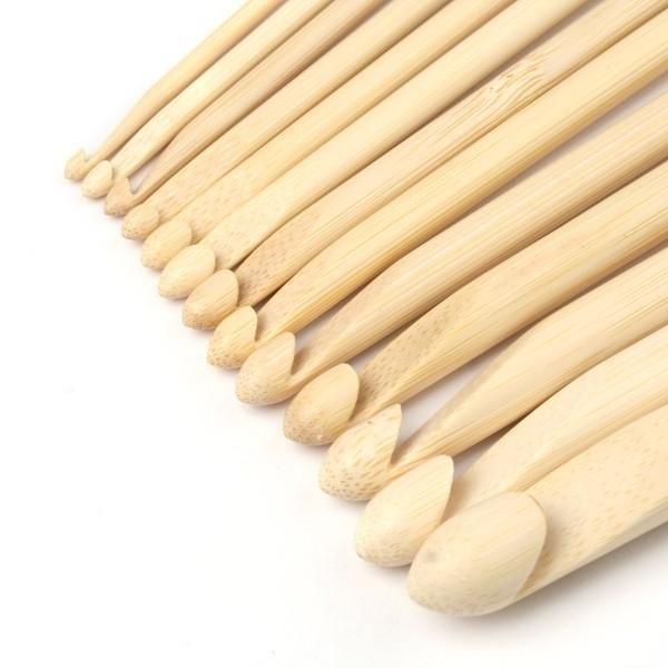 Haaknaald hout 7 mm