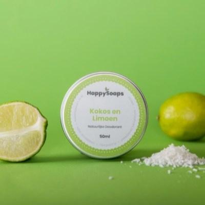 Happy Soaps - Deodorant - Kokos & Limoen