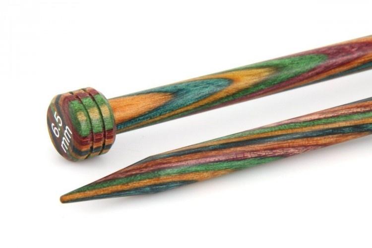 Knitpro Symfonie wood breinaalden -- 6,5 mm - 35 cm